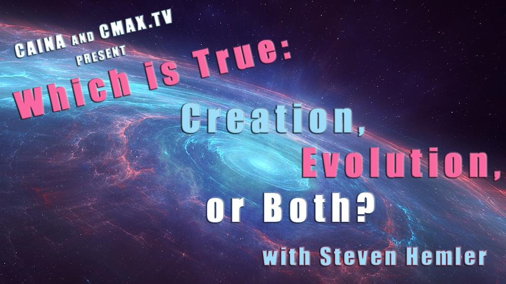Click to watch a video of CAINA's presentation on evolution and creation.