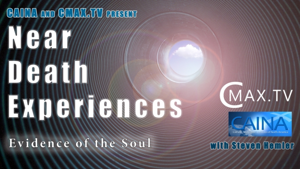 Click to watch a video of CAINA's presentation on Near-Death Experiences and the soul.