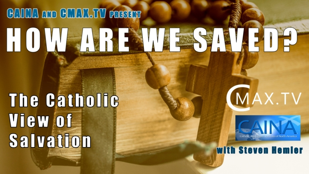 Click to watch a video of CAINA's presentation on how we are saved.